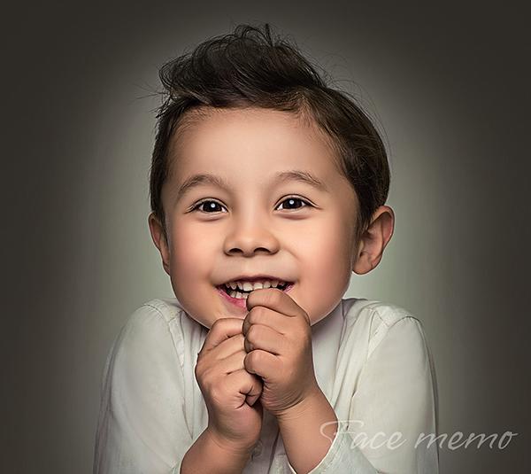 儿童肖像摄影,无关色彩让视觉更加返璞归真